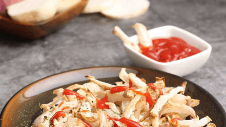 Keto Turnip Fries