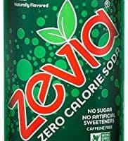 Zevia Zero Calorie Soda, Ginger Ale, Naturally Sweetened Soda, (24) 12 Ounce Cans; Ginger-flavored Carbonated Soda; Refreshing, Full of Flavor and Delicious Natural Sweetness with No Sugar
