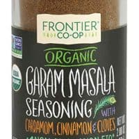 Frontier Garam Masala Certified Organic, Salt Free Blend, 2-Ounce Bottle