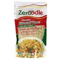 Zeroodle Premium Shirataki Penne with Oat Fiber Pasta - Low Carb Low Calorie Noodles - Vegan Gluten and Soy Free - 6 Pack