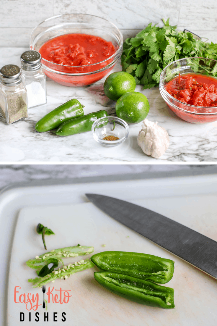 making restaurant style salsa