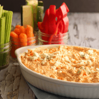 Easy Buffalo Chicken Dip (low carb, keto, gluten free)