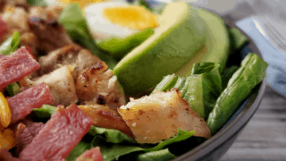 Keto Cobb Salad-quick & easy dinner