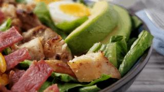 Keto Cobb Salad-quick & easy dinner