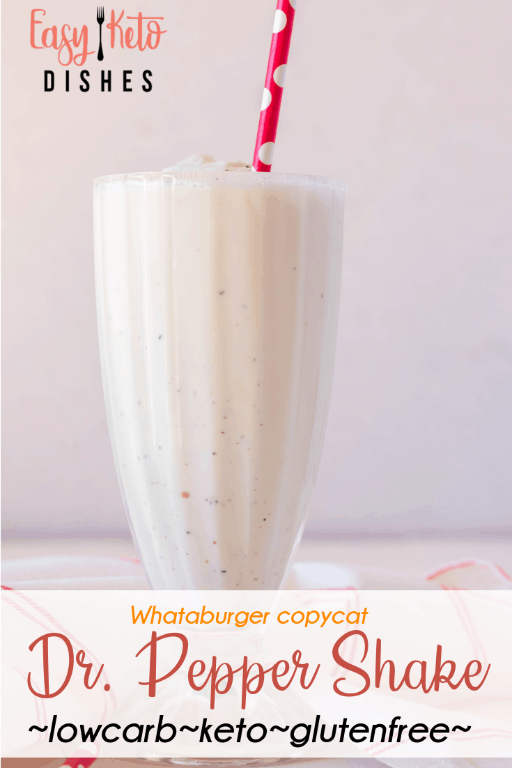 low carb milkshake