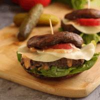 Portobello Meatloaf Sandwich (keto, low carb, gluten free)