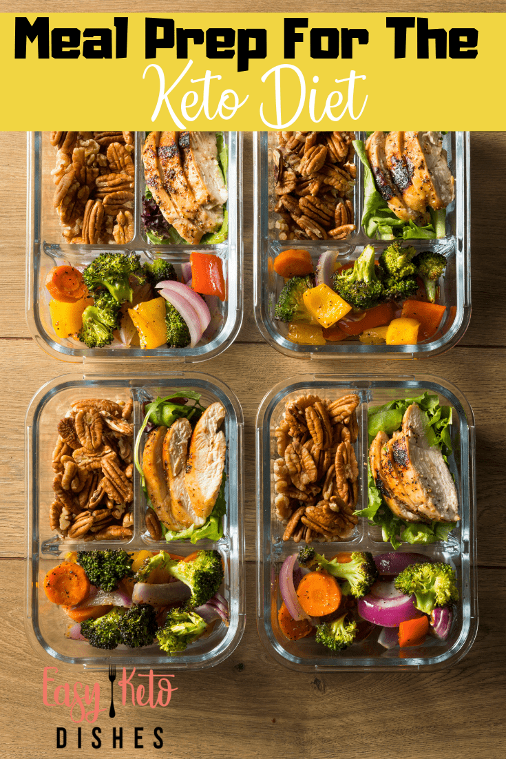 keto meals in glass containers