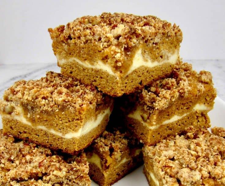 Pumpkin Coffee Cake - Keto/Low Carb/Gluten-Free