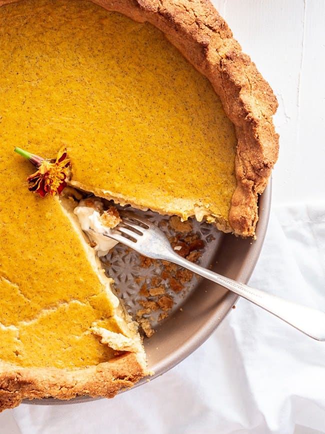 Keto Pumpkin Pie - Homemade Keto Dessert Everyone Will Love