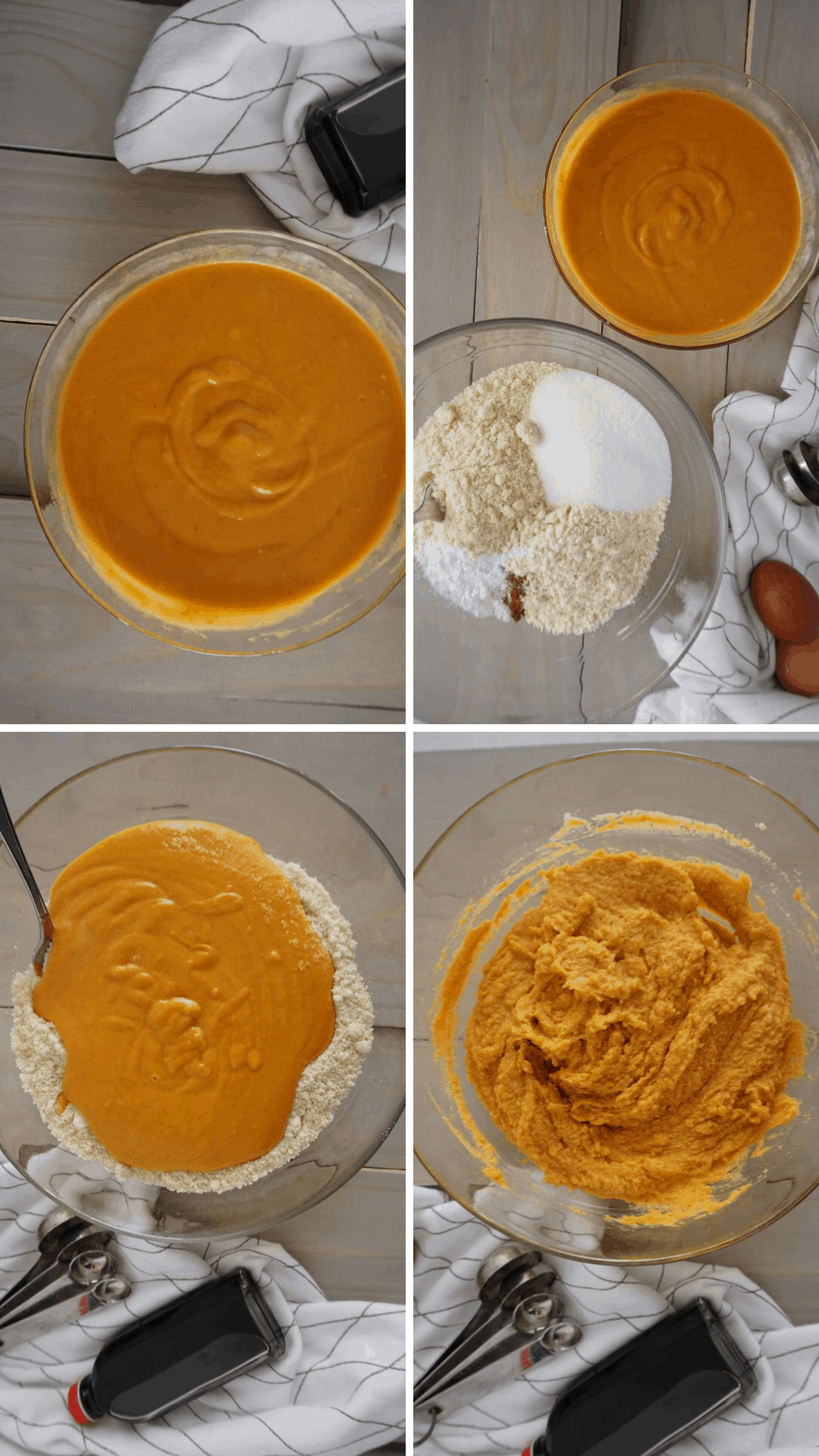 making keto pumpkin bread