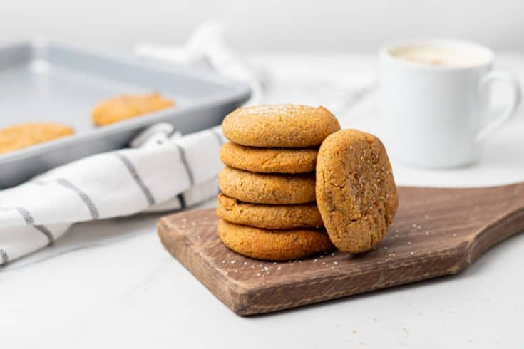 Keto Pumpkin Cookies (Vegan)