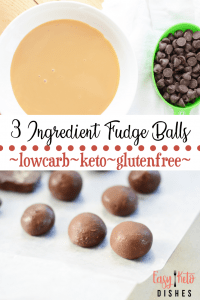 low carb easy fudge