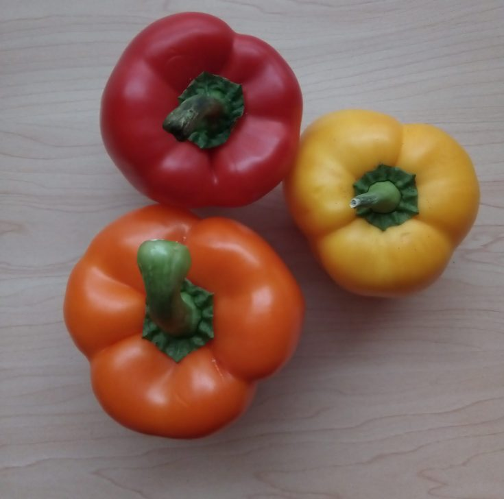 Bell peppers for keto recipe