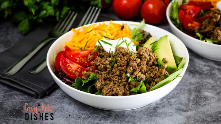 Taco Night Keto Taco Salad